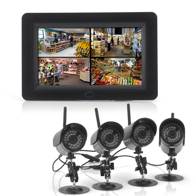 2.4GHz Wireless Digital Security Video System
