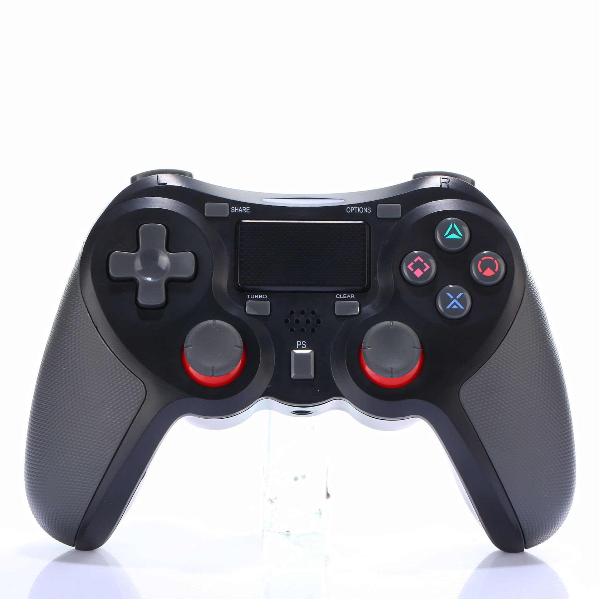 Bluetooth Gamepad Wireless Joystick Controller for Playstation 4 PS4 Game Console Support Android TV black