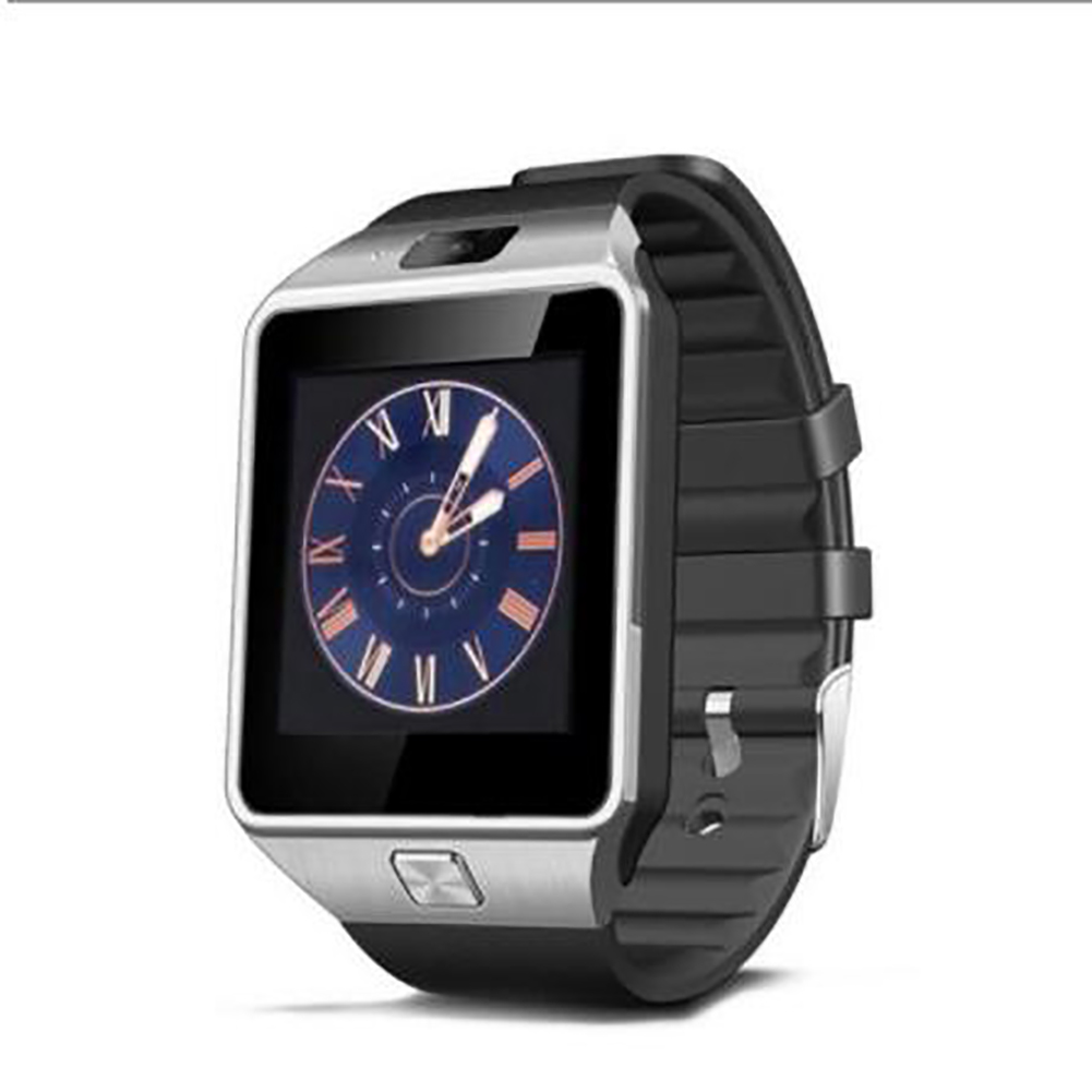 Dz09 High-end Smart Bracelet Bluetooth Positioning Pedometer Anti-lost Wearable Smart Watch black
