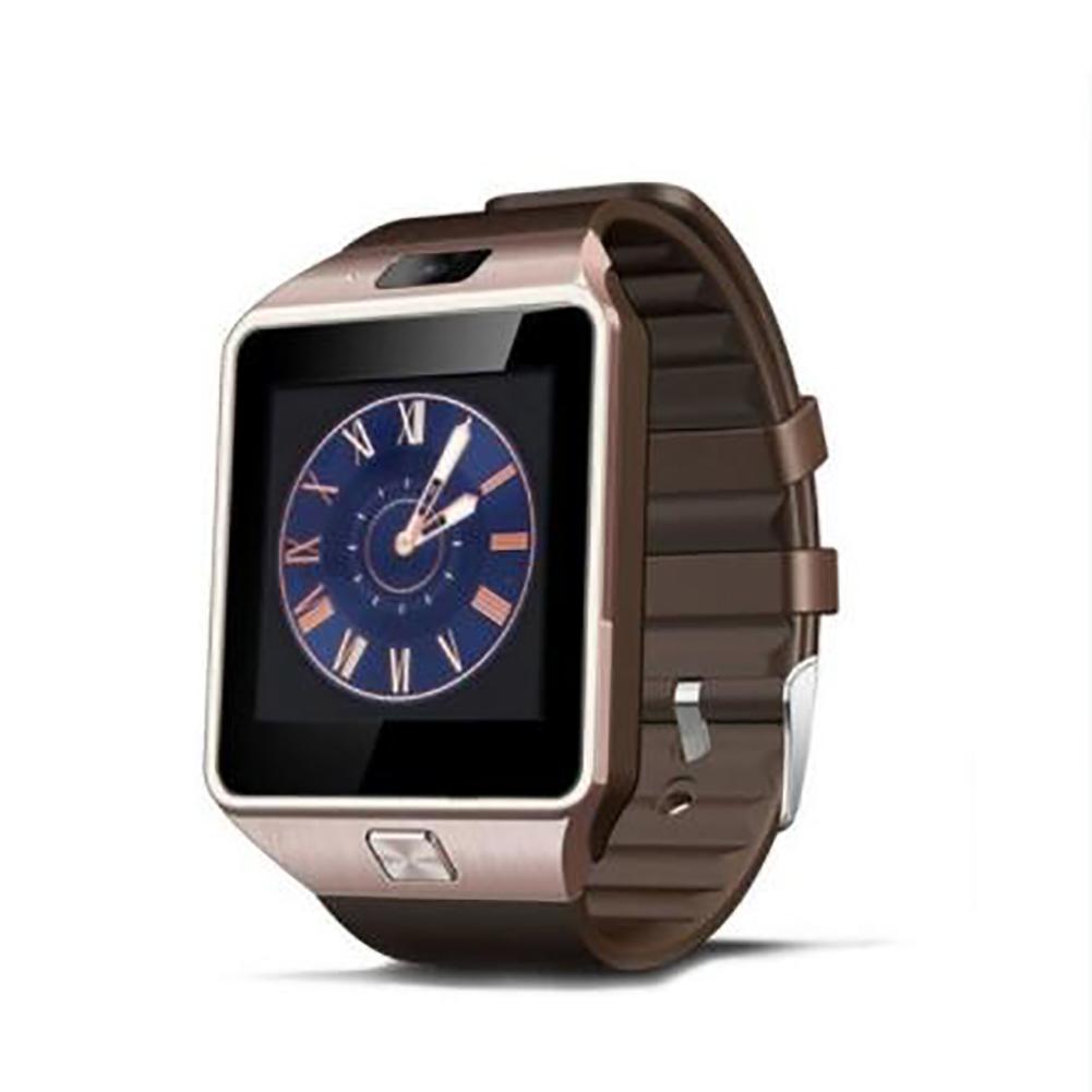 Dz09 High-end Smart Bracelet Bluetooth Positioning Pedometer Anti-lost Wearable Smart Watch Golden