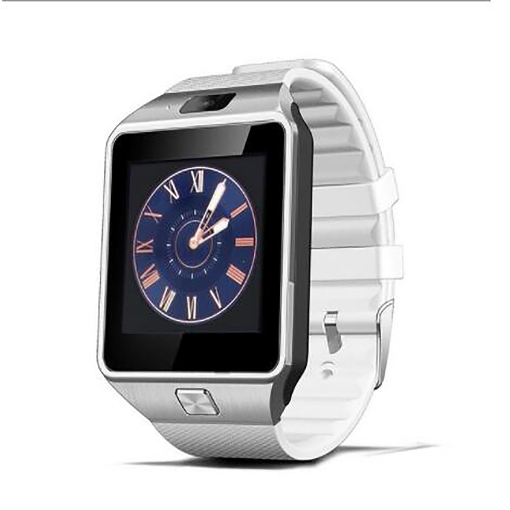Dz09 High-end Smart Bracelet Bluetooth Positioning Pedometer Anti-lost Wearable Smart Watch white