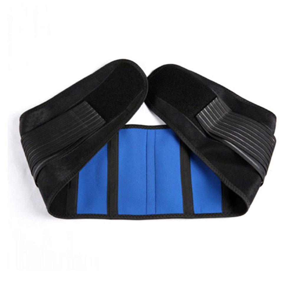 Back Brace Neoprene Support Adjustable Lower Back Brace Belt L