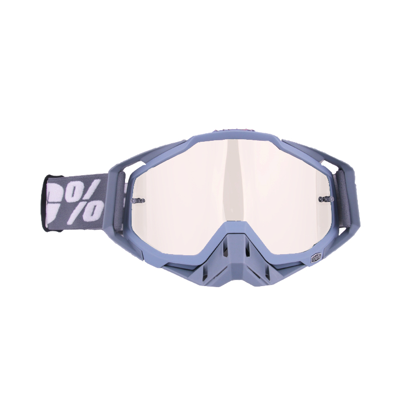 Motocross Goggles ATV Casque Motorcycle Glasses Racing Moto Bike Cycling CS Gafas Sunglasses All gray + gray