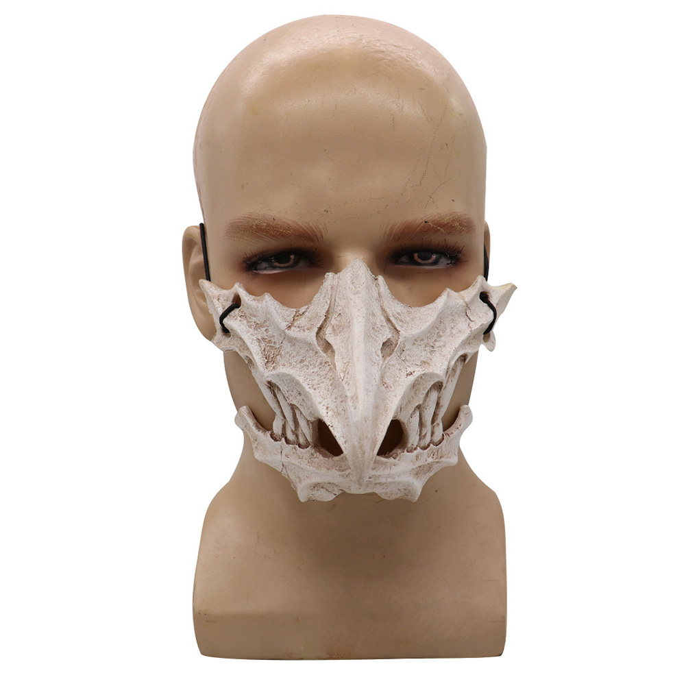 Cosplay Latex Mask Photo Prop for Halloween Party Performance Art Mask  4#