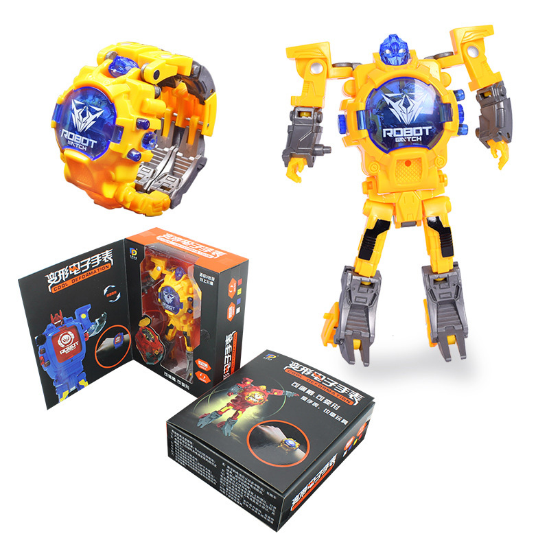 Robot Toys Children Electronic Watch