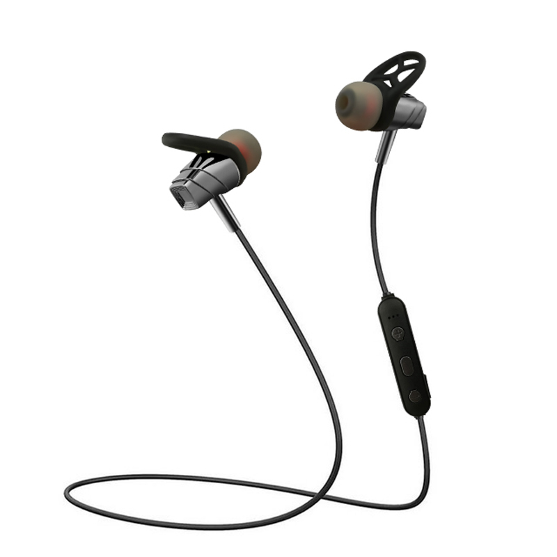 Wireless Stereo Headphone Bluetooth Earphone Neckband Sports Earphone Auriculare CSR Bluetooth for All Phone gray