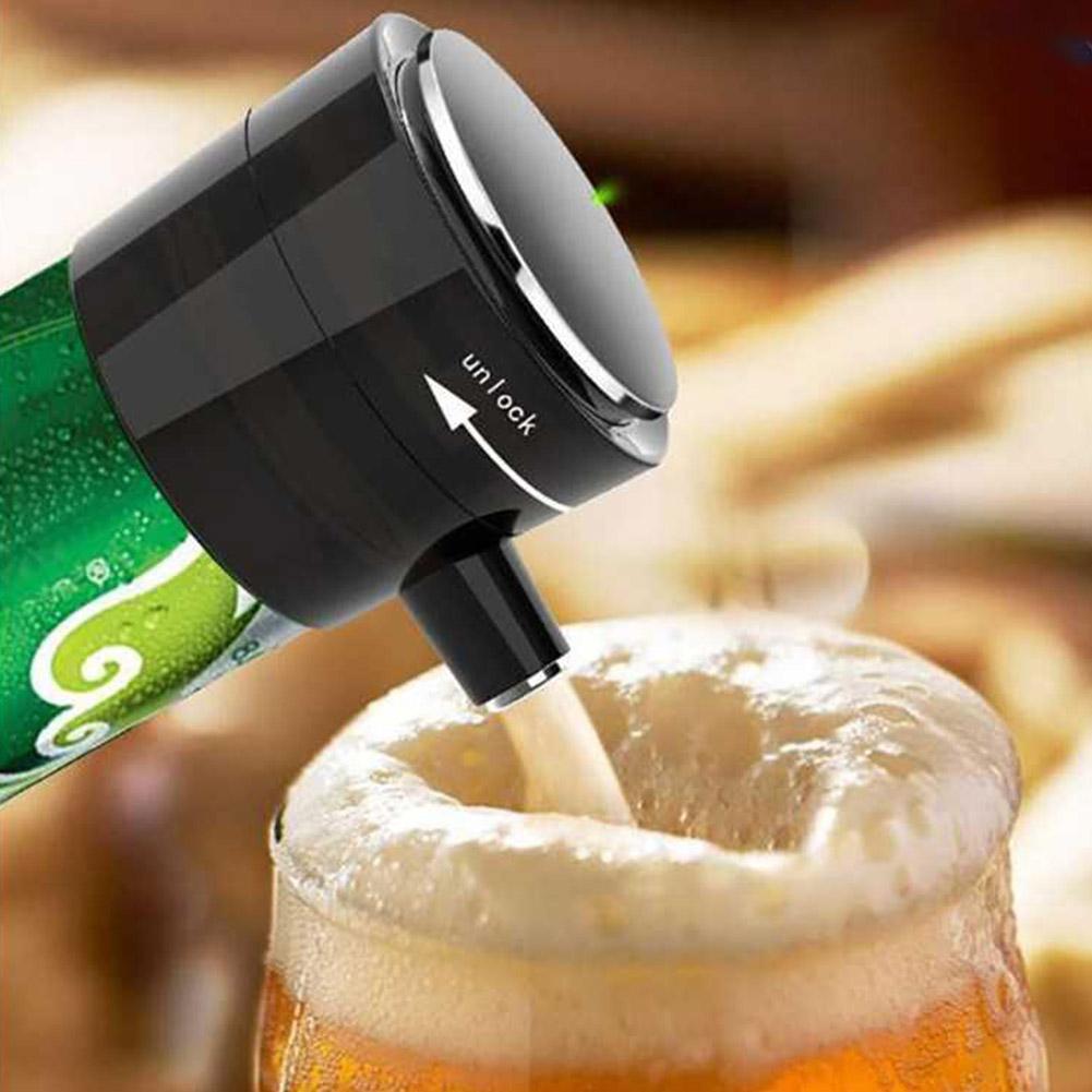 Ultrasonic Beer Server Smart Quick Electric Wine Decanter black