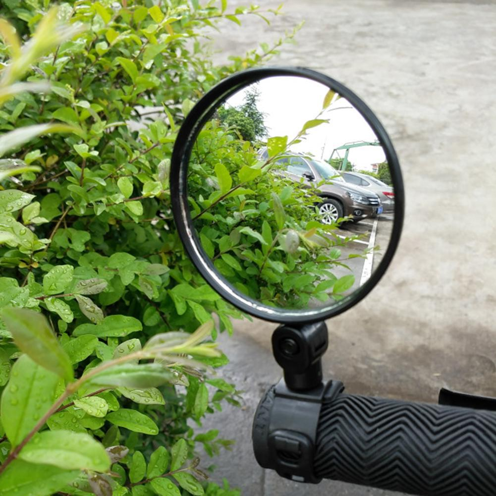 Bicycle Rearview Mirrors For Handlebar Cycling Rear View Bicycle MTB Bicycle Silicone Handle Rearview Mirror