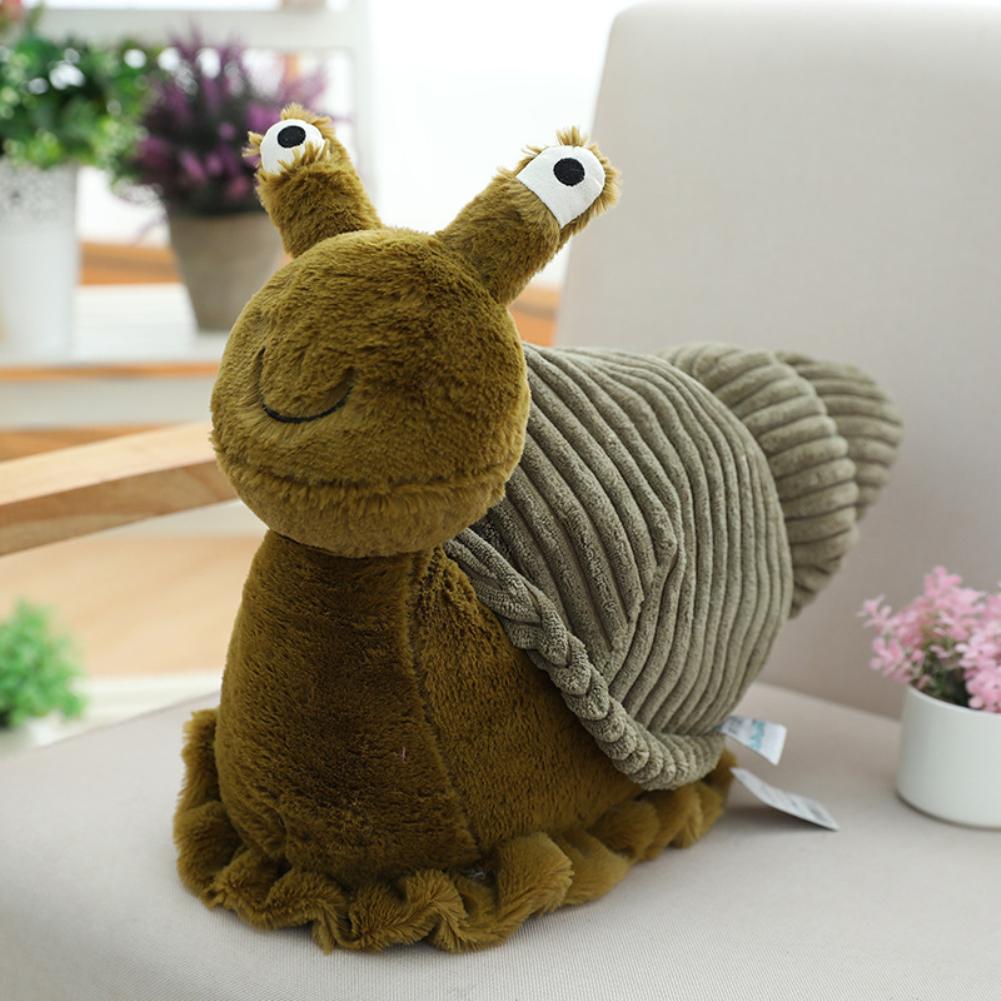 40cm Cartoon Snail Plush Toy Stuffed Animal Doll Toys Infant Baby Kids Children Boy Girl Birthday Gift  snails