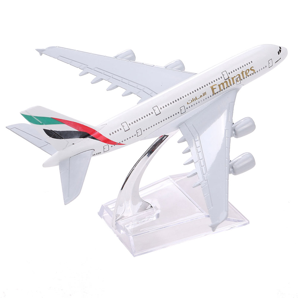 Wh A380 Emirates Airplane Modeling Toy