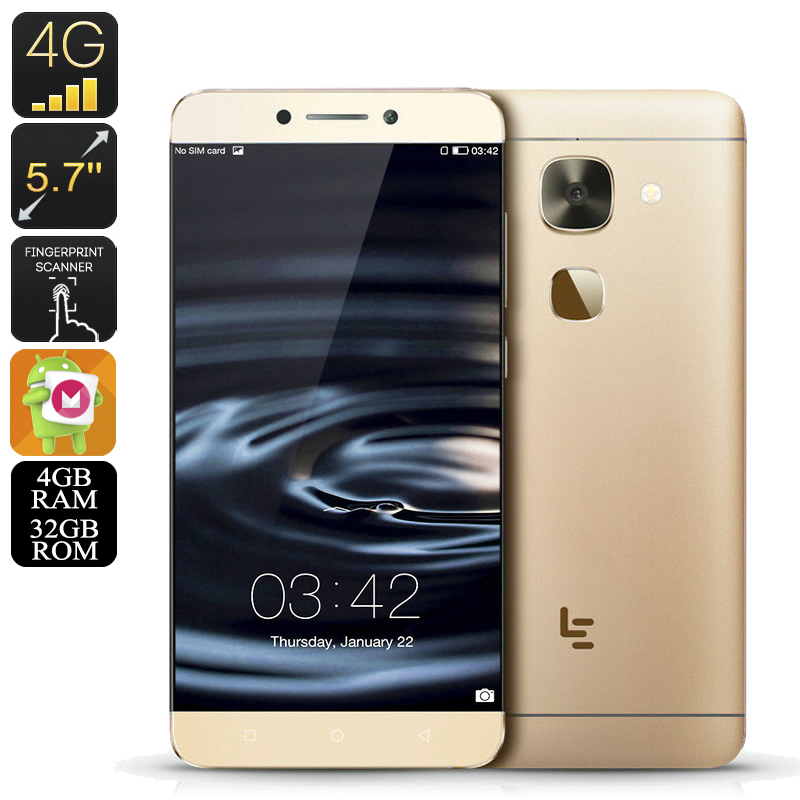 Le Max 2 Android Smartphone (32GB Gold)