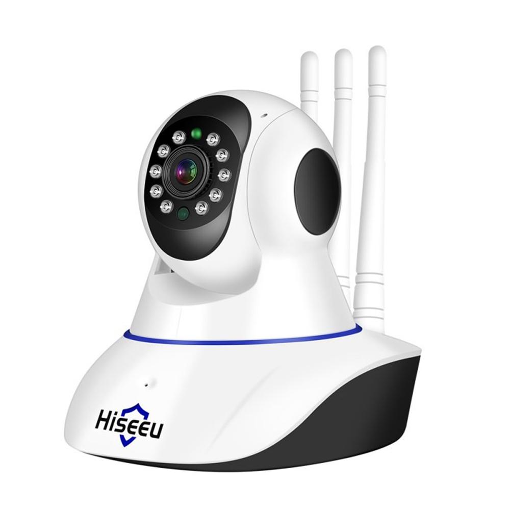 Home Security 1080P 3MP Wifi IP Camera Audio Record Memory Card Memory P2P HD CCTV Surveillance Wireless Camera British regulatory