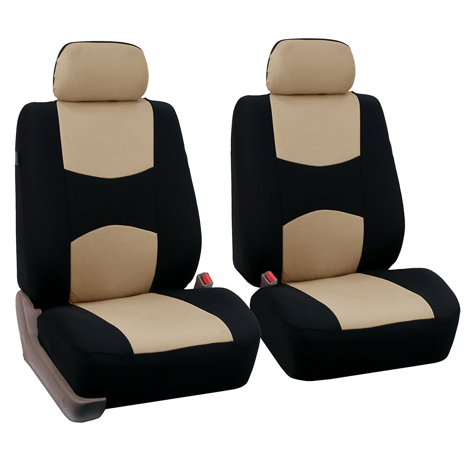 Car Front Seat Cover Beige
