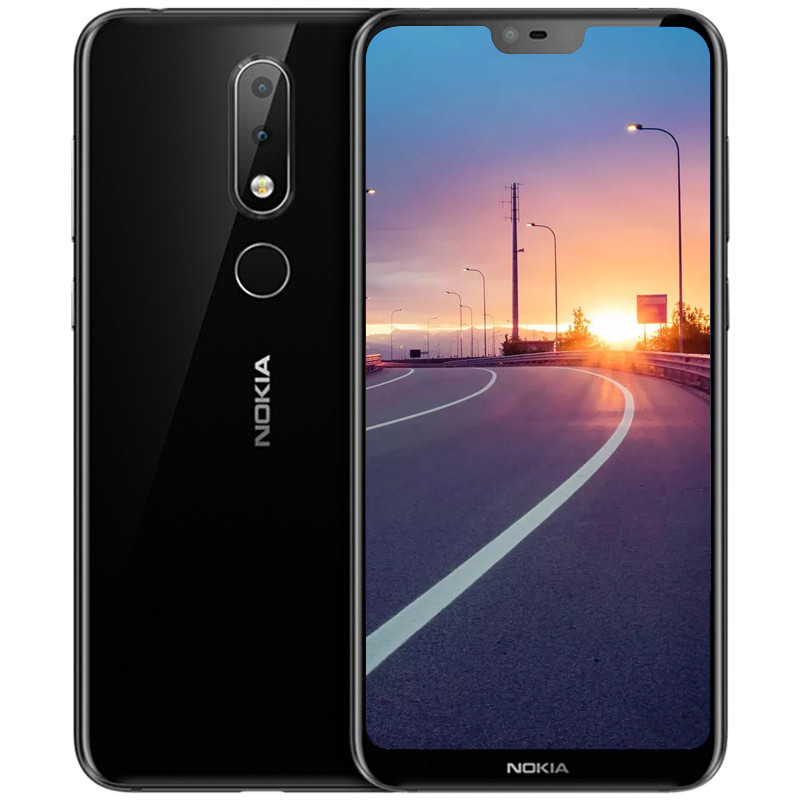 Nokia X6 Phablet 4G 5 8 Inch Android 8 1 Qualcomm Snapdragon 636 Octa Core  4GB RAM 64GB ROM 16 0MP - Black, US PLUG