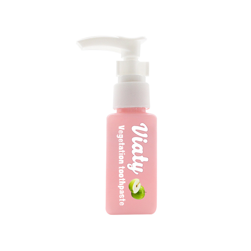 Soda  Hand  Push  Type  Toothpaste Bottled Tooth Whitening Health Beauty Tools Toothpaste Apple 30ml