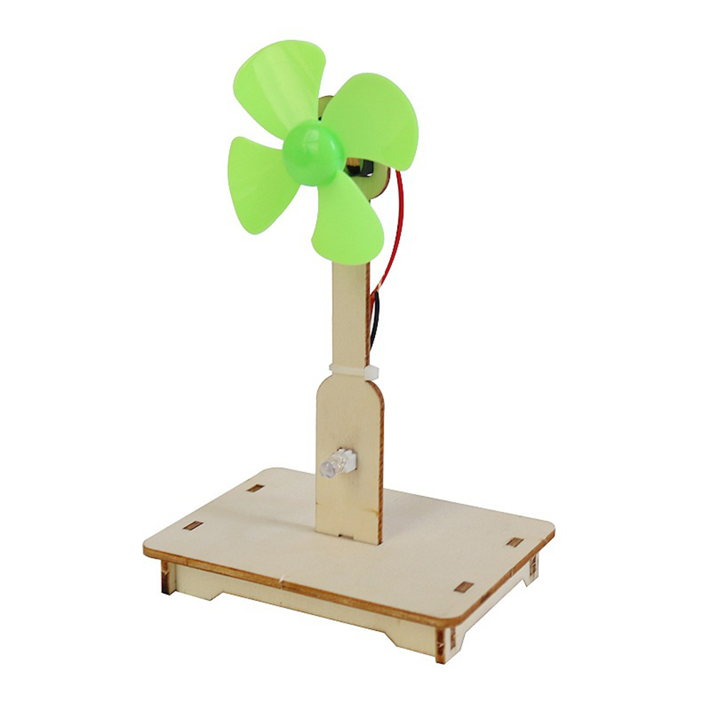 Wind Power Generation DIY Model Kit Educational Toy for Children Exploring Science Experiment Handmade DIY Assembly Toy As shown