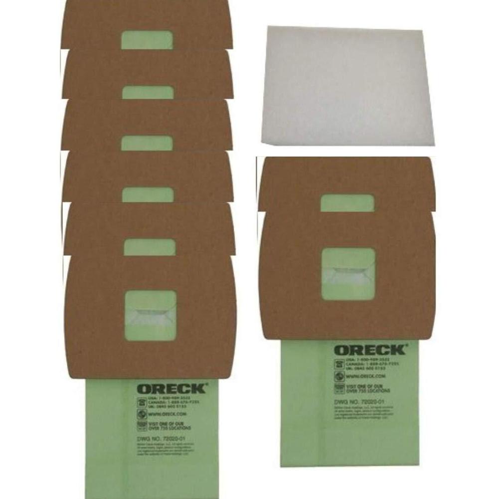 20Pcs Dust Bags Replacement for Oreck Super-Deluxe PKBB12DW Vacuum Cleaner 20pcs