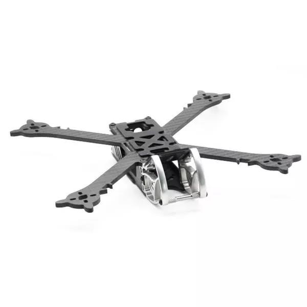 HSKRC SZ245 245mm Wheelbase 4mm Arm Carbon Fiber X Type FPV Racing Frame Kit for RC Drone 245mm