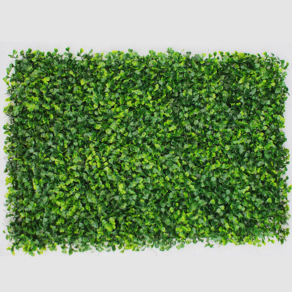 Plastic Milan Grass Plants Wall Lawns