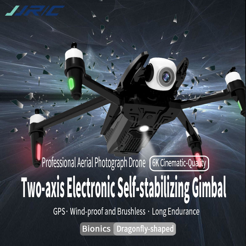 JJRC X15 Drone 6K Professional GPS Quadcopter with 2-Axis Gimbal HD Camera FPV Brushless Motor 1200 Meter RC Dron VS SG906 Pro 3 battery