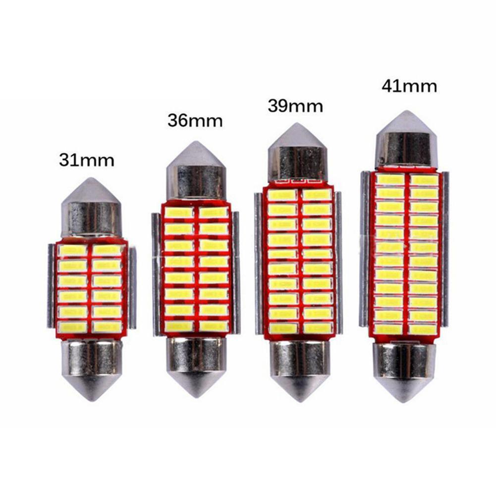 Auto LED Bulb 4014 31MM 36MM 39MM 41MM Interior Doom Lamp Car Styling Light 41MM