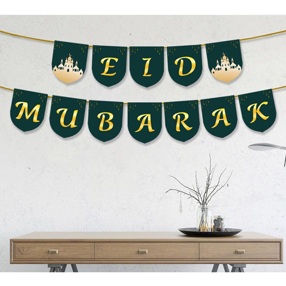 Banners Hanging Pendant for Ramadan EID Mubarak Decoration 2#