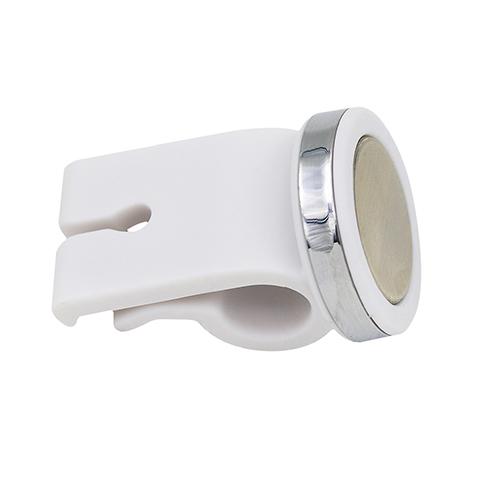 Universal Mini Car Vehicle Magnet Air Outlet Phone Holder Bracket white