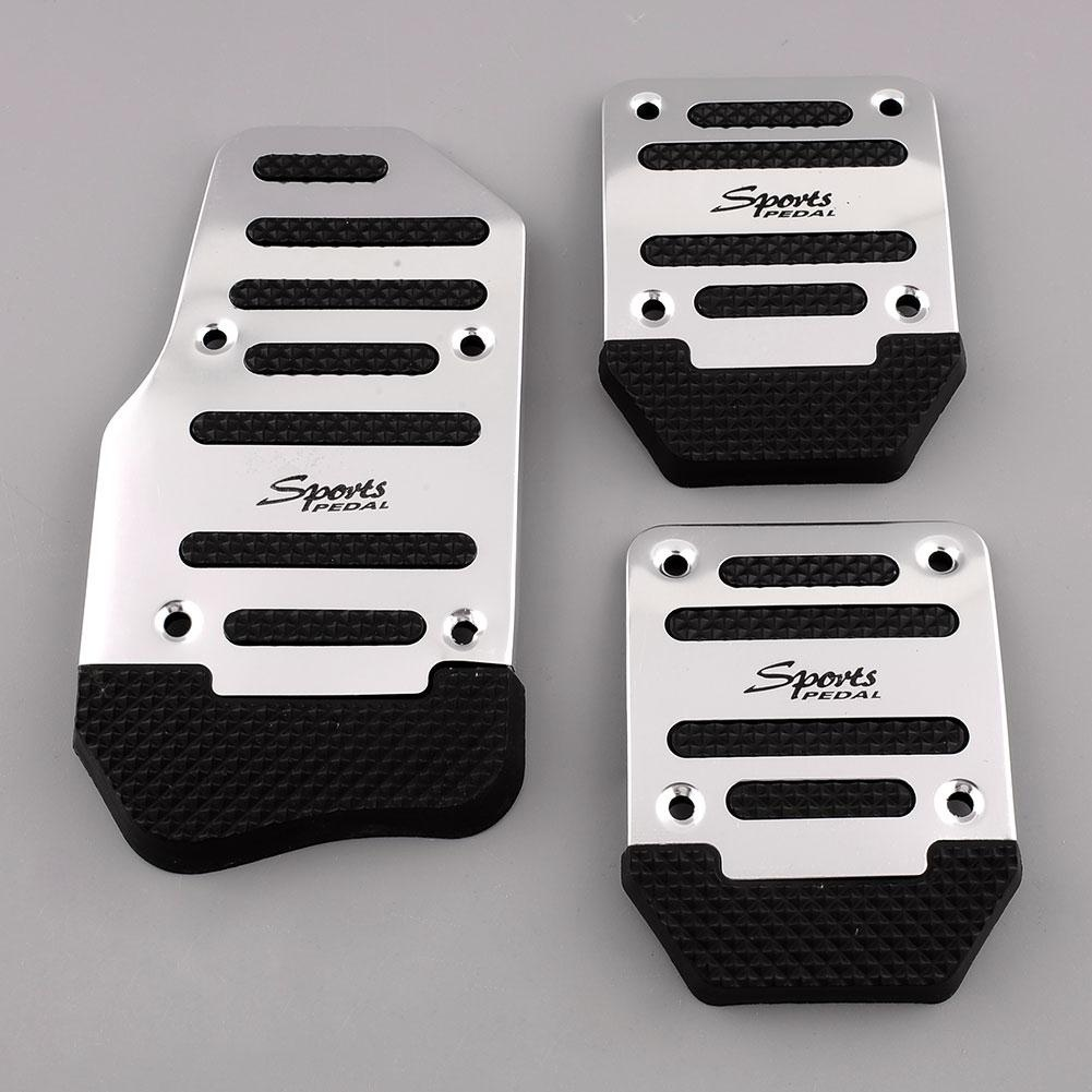 Nonslip Clutch Brake Gas Car Pedal Set