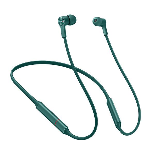 Original HUAWEI FreeLace Sport Earphone Bluetooth Wireless Headset Memory Cable Metal Cavity IPX5 Fast Charging green