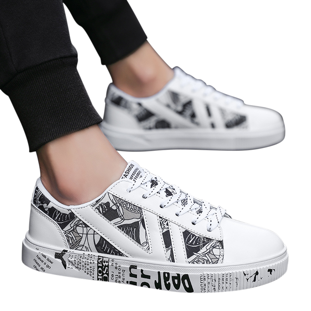 Men Outdoor Breathable Canvas Color Matching Casual Sneakers
