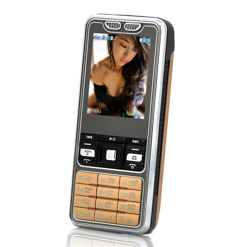 Budget Bar Cell Phone w/ Dual SIM
