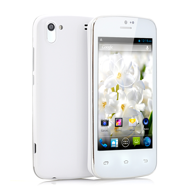 4 Inch Slim Android 4.2 Phone - Hyacinth (W)