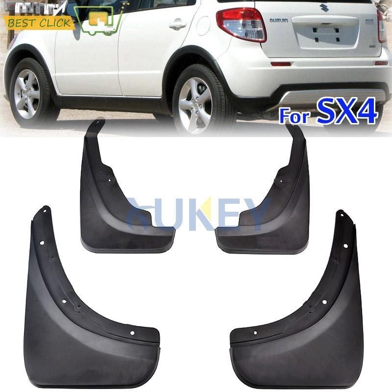 For Suzuki SX4 2007-2013 Car Mud Flaps Car Fenders Set Mudguard