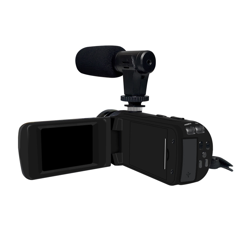 HD 1080P Digital Video Camera Camcorder W/Microphone Photography 16 Million Pixels Standard + microphone