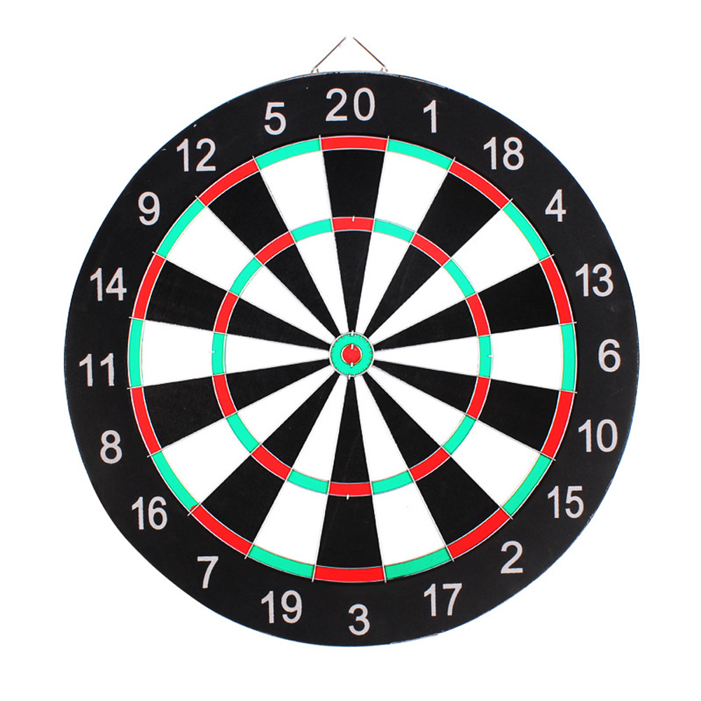Professional Dartboard Double-sided Dart Board with Darts Set Fitness Equipment 9 inch