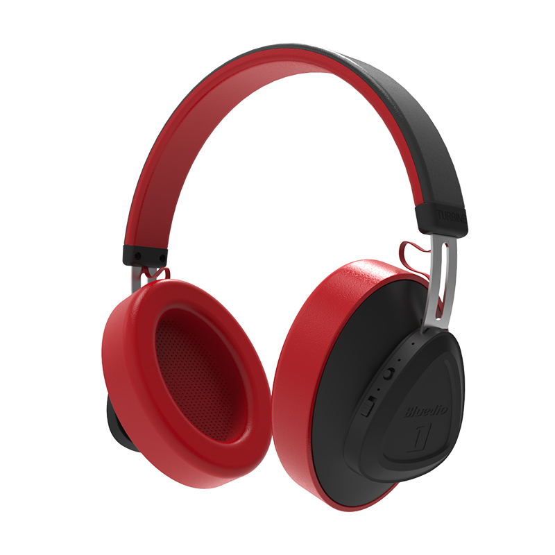 Bluedio TMS Wireless Headphone Red