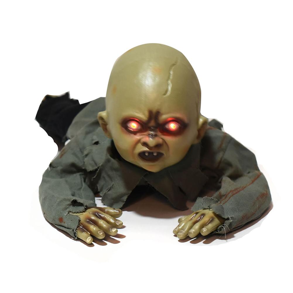 Halloween Baby Voice Control Zombie Electrique Sparkle Shock Prop A