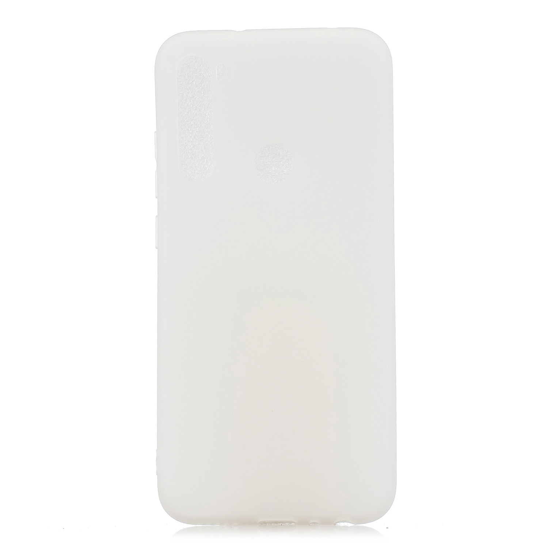 For Samsung A01/ A11/A21/A41/A51/A71/A81/A91 Mobile Phone Case Lovely Candy Color Matte TPU Anti-scratch Non-slip Protective Cover Back Case 2 white