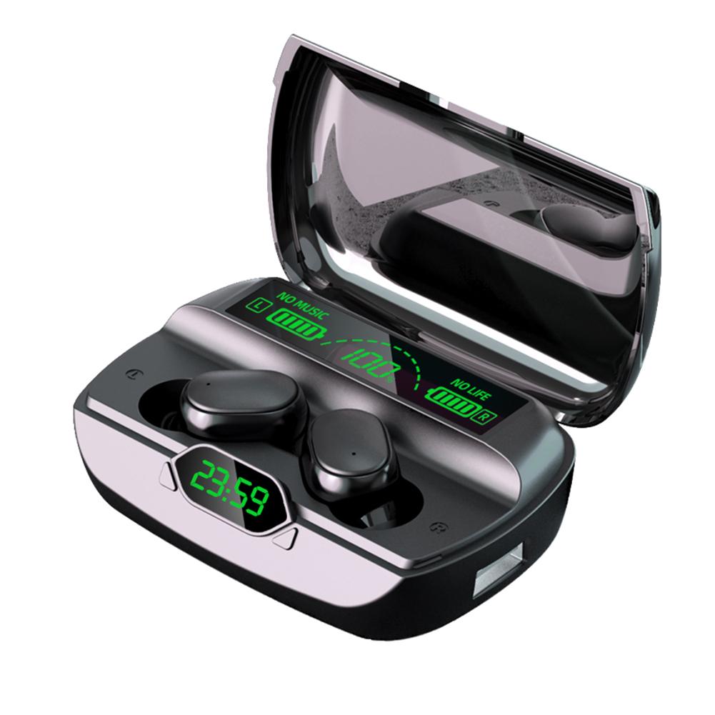 G6 Wireless Bluetooth Headset Stereo Handsfree Headset With Microphone Earphones black