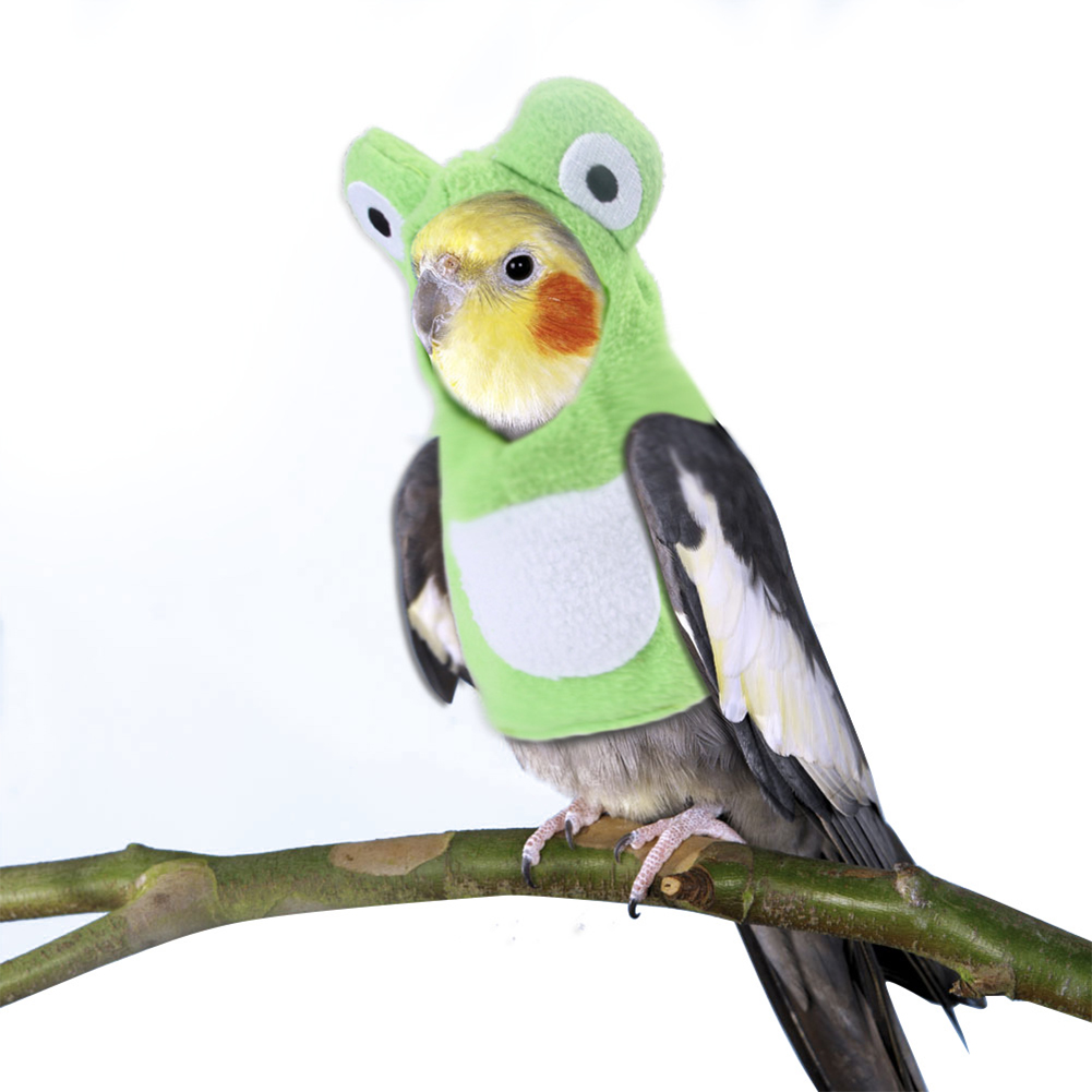 Pet Cosplay Clothes  Cute Cartoon Costume for Adults Bird Parrot L
