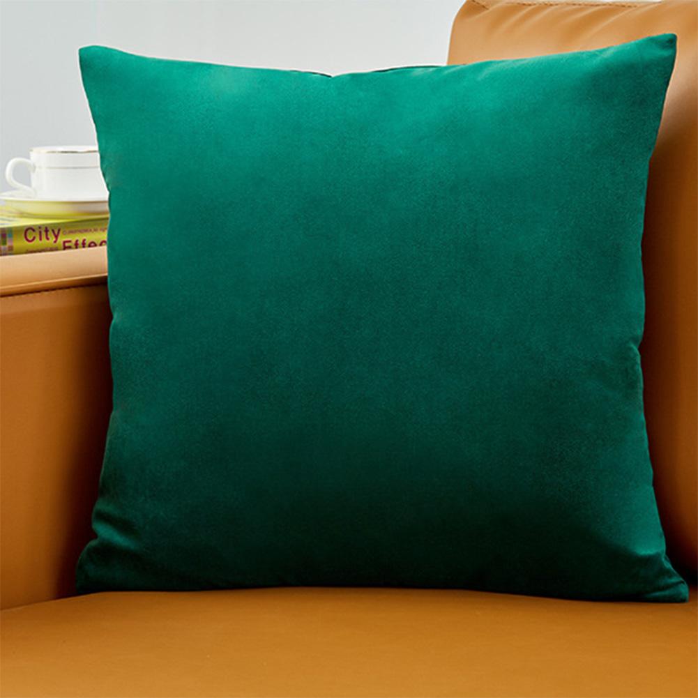 50*50cm Pillowcases Modern Simplicity Velvet Pure Color Sofa Cushion Pillow Cases No. 5 colour_50*50cm