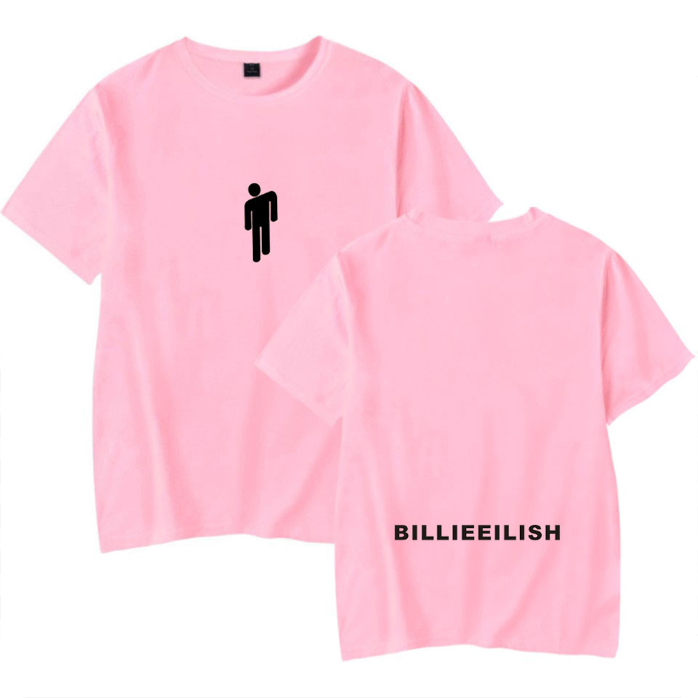 Fashion Young All-matching Soft Cotton T-shirts Pink C_L