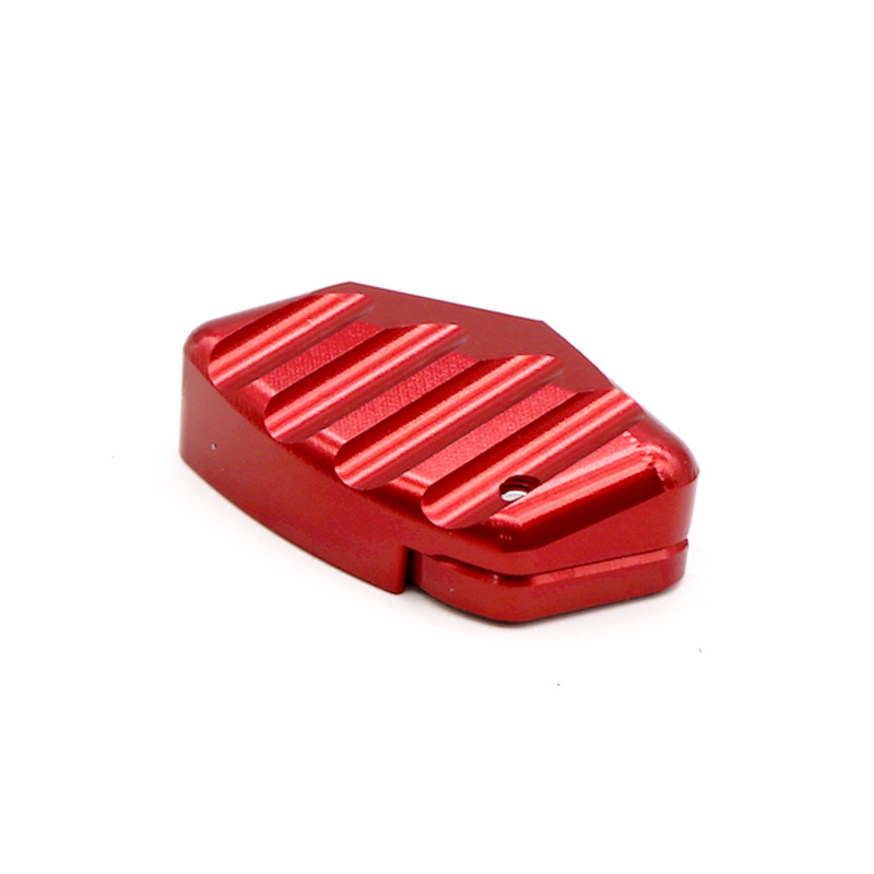 Motorcycle Kickstand Footrest Extension Side Stand Support for YAMAHA XMAX 250 XMAX 300 XMAX 400 2014-2018 red