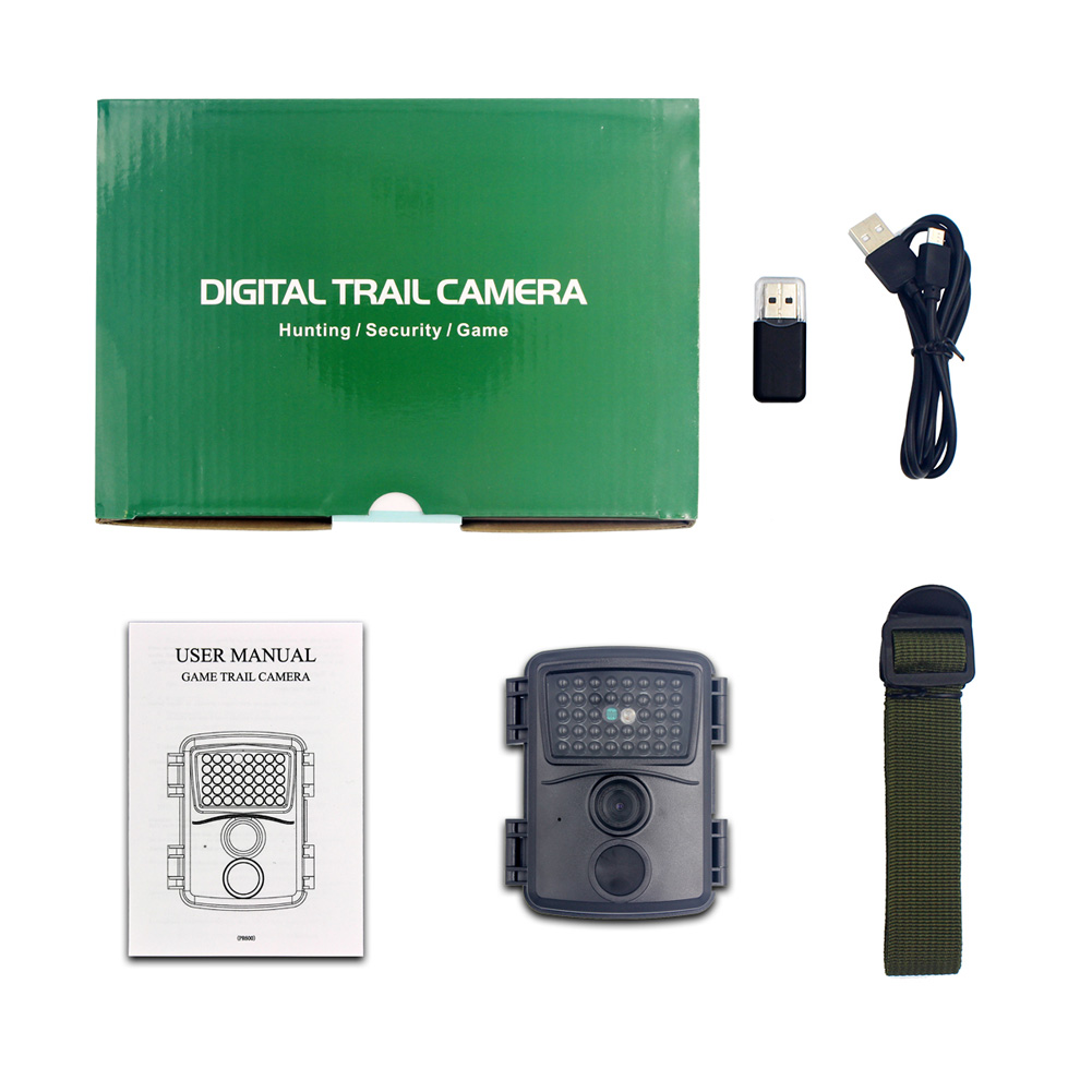 HD 1080P INFRARED camera 12MP Outdoor camera 38 surveillance cameras with infrared lights