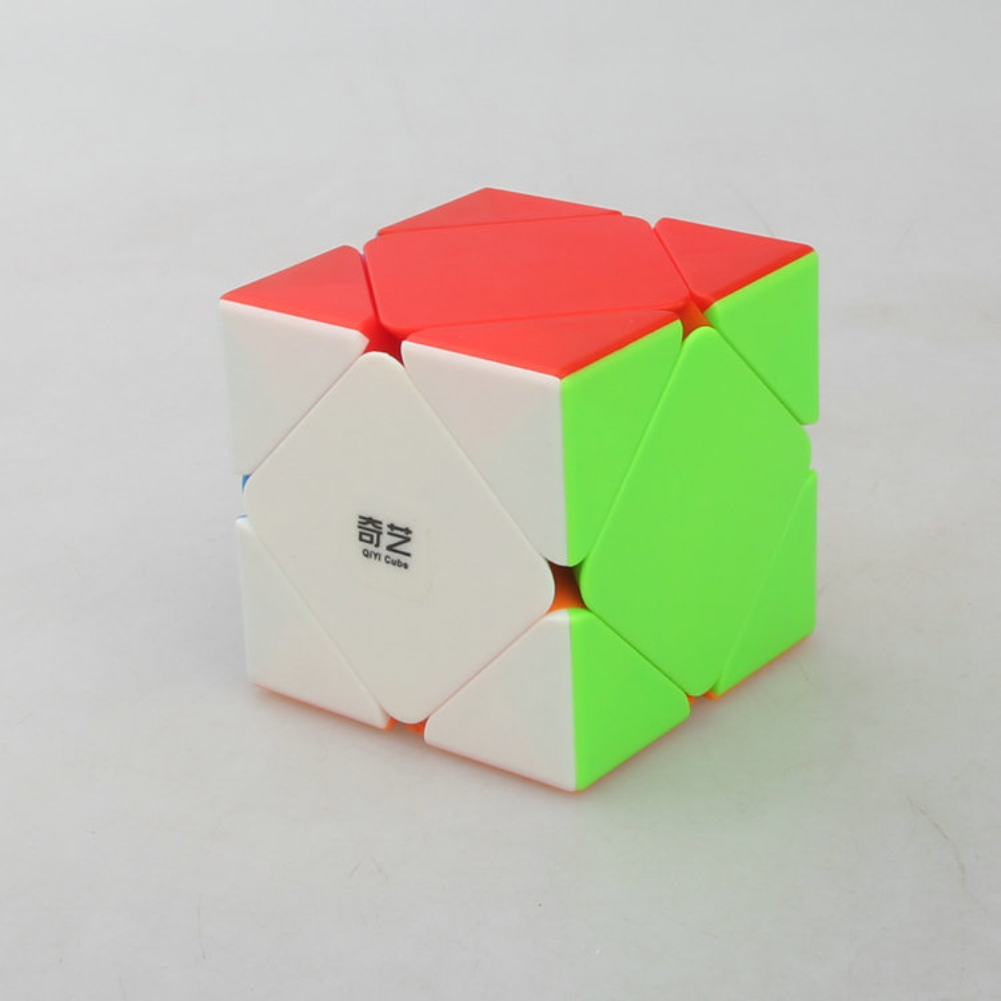 Special Shape Ramp Turn Magic Cube Puzzle Toy Stress Reliever color
