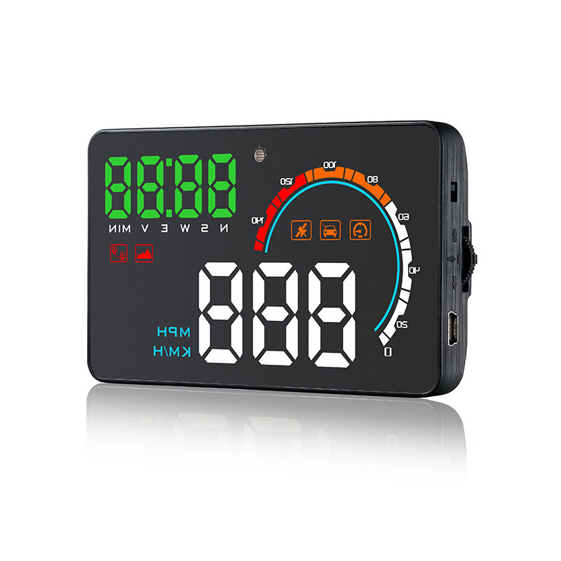 Q5HUD Universal Auto Vehicle GPS HUD Speed Od