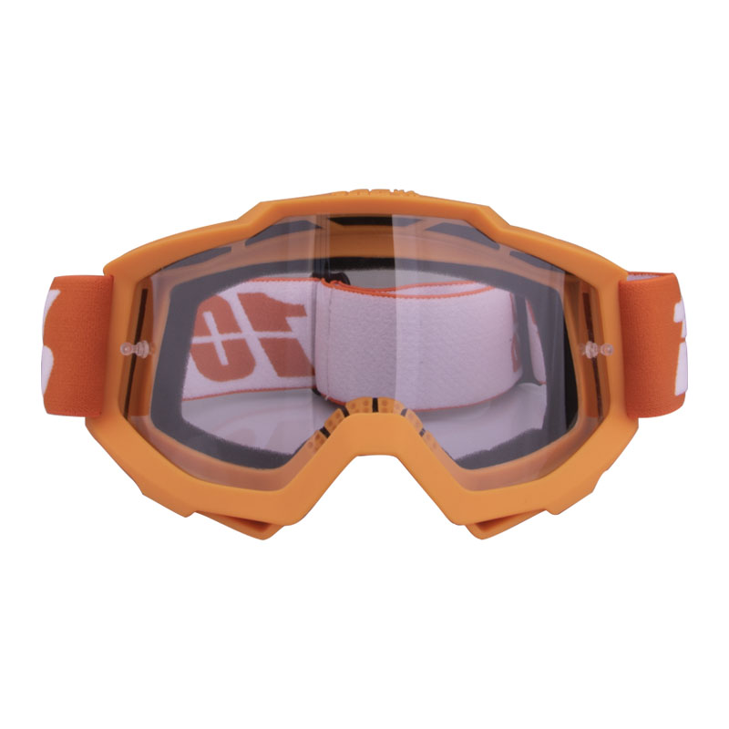 Motorcycle Goggles  Riding  Off-road Goggles Riding Glasses Outdoor Sports Eyeglasses Sand-proof Windproof Glasses Orange transparent