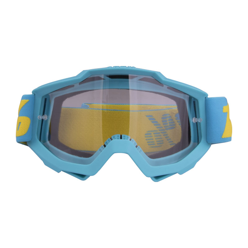 Motorcycle Goggles  Riding  Off-road Goggles Riding Glasses Outdoor Sports Eyeglasses Sand-proof Windproof Glasses lake blue transparent