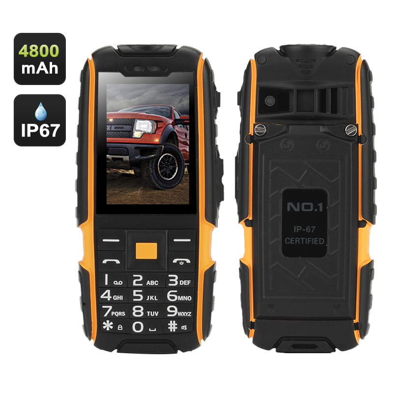 NO.1 A9 GSM Phone (Yellow)