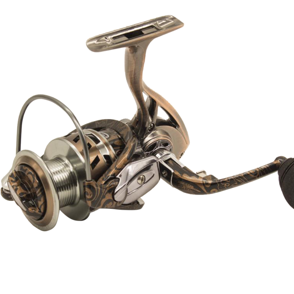 Full Metal 14 Bearings Zero Clearance Spinning Fishing Reel Boat Sea Fishing Wheel  4000